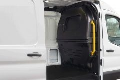 Composite Van Partition, Installed Side View