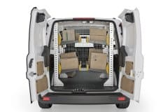 Ford Transit Connect 2014+ Delivery Package, TCL-19 Installed, Rear View