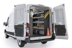 Ford Transit Contractor Package, FTM-10 Installed, Rear Passenger-View