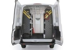 Ford Transit Mobile Service Package, FTM-16 Installed, Rear View