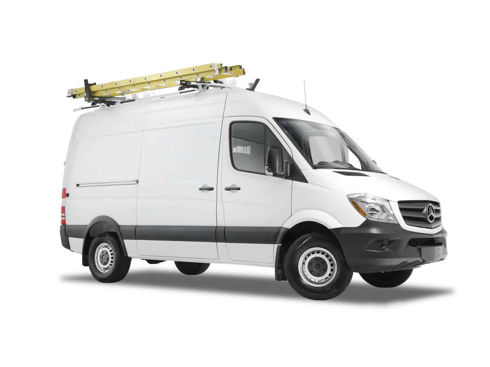 Sprinter Ladder Rack (Max Rack), Front 3/4 View