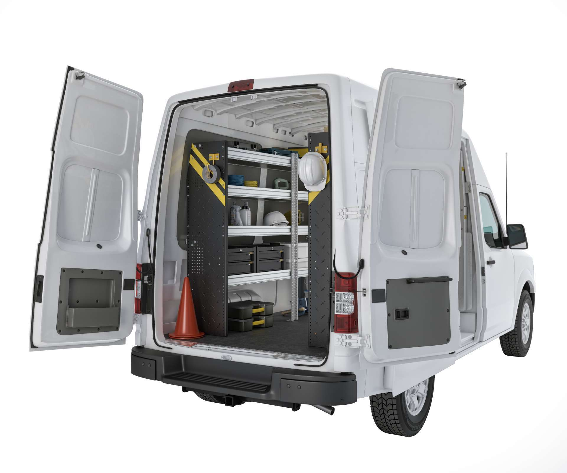 Locksmith Van Setup - Ranger Design