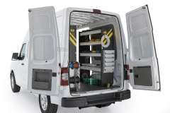 Nissan NV Electrical Package, NVH-11 Installed, Rear Passenger View
