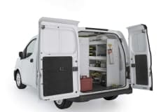Nissan NV200 Aluminum Package, CNR-27 Installed, Rear Passenger View