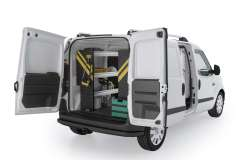 RAM ProMaster City Contractor Package, PMC-10 Installed, Rear Driver-View