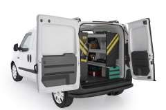RAM ProMaster City Contractor Package, PMC-10 Installed, Rear Passenger-View