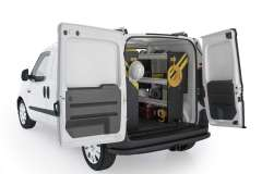 RAM ProMaster City Electrical Package, PMC-11 Installed, Rear Passenger View
