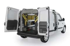RAM ProMaster City Mobile Service Package, PMC-16 Installed, Rear Driver View