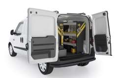 RAM ProMaster City Mobile Service Package, PMC-16 Installed, Rear Passenger View