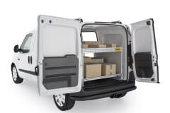 RAM ProMaster City Base Delivery Package, PMC-19 Installed, Rear Passenger View