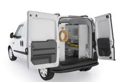 RAM ProMaster City  Aluminum Package, PMC-27 Installed, Rear Passenger View