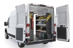 RAM ProMaster Contractor Package, RPS-10 Installed, Rear Passenger View