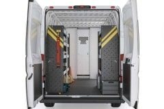 RAM ProMaster Contractor Package, RPS-10 Installed, Rear View