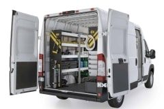 RAM ProMaster HVAC Package, RPS-12 Installed, Rear Driver View
