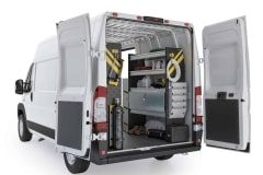 RAM ProMaster HVAC Package, RPS-12 Installed, Rear Passenger View