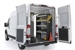 RAM ProMaster Service Package, RPS-16 Installed, Rear Passenger View