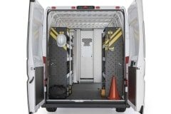 RAM ProMaster Service Package, RPS-16 Installed, Rear View