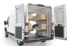 RAM ProMaster Delivery Package, RPS-19 Installed, Rear Passenger View