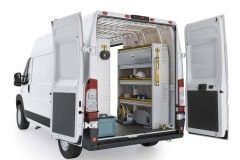 RAM ProMaster Aluminum Package, RPS-27 Installed, Rear Passenger View