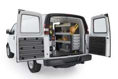 Savana/Express Electrical Package, GSR-11 Installed, Rear Passenger View