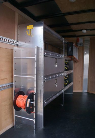 Cargo Trailer Shelving Ideas from Ranger Design