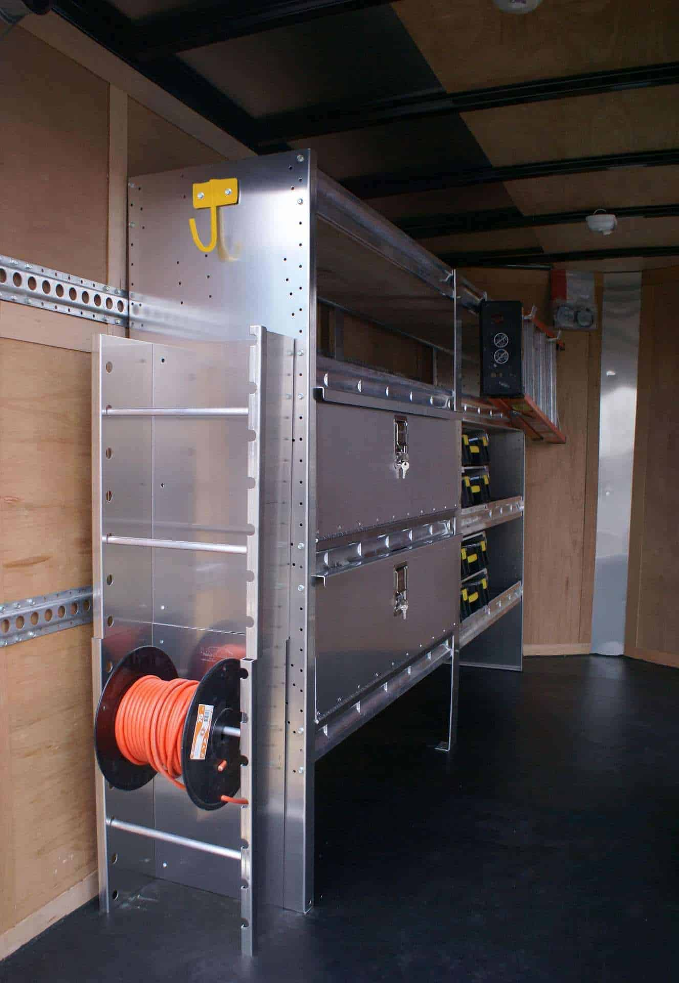 Enclosed Trailer Shelving Amp Storage Ranger Design