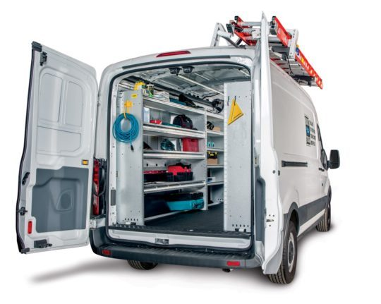 Ford Transit Contractor Tradesman Van Shelving