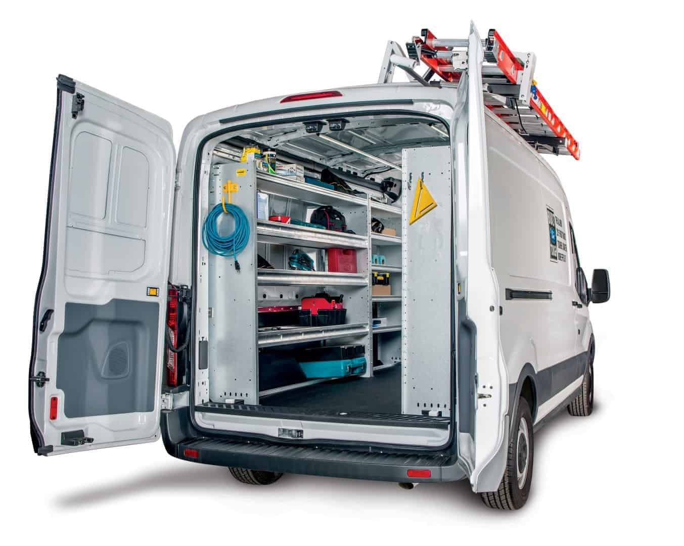 Ford Transit Accessories Shelving Amp Racks Ranger Design