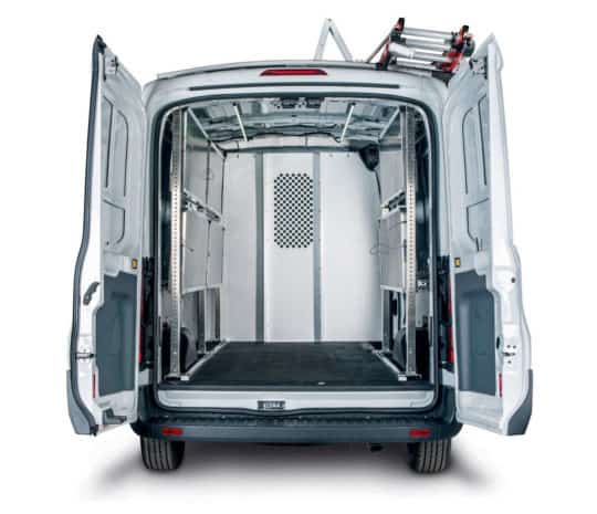 Ford Transit Partition Rear Shot