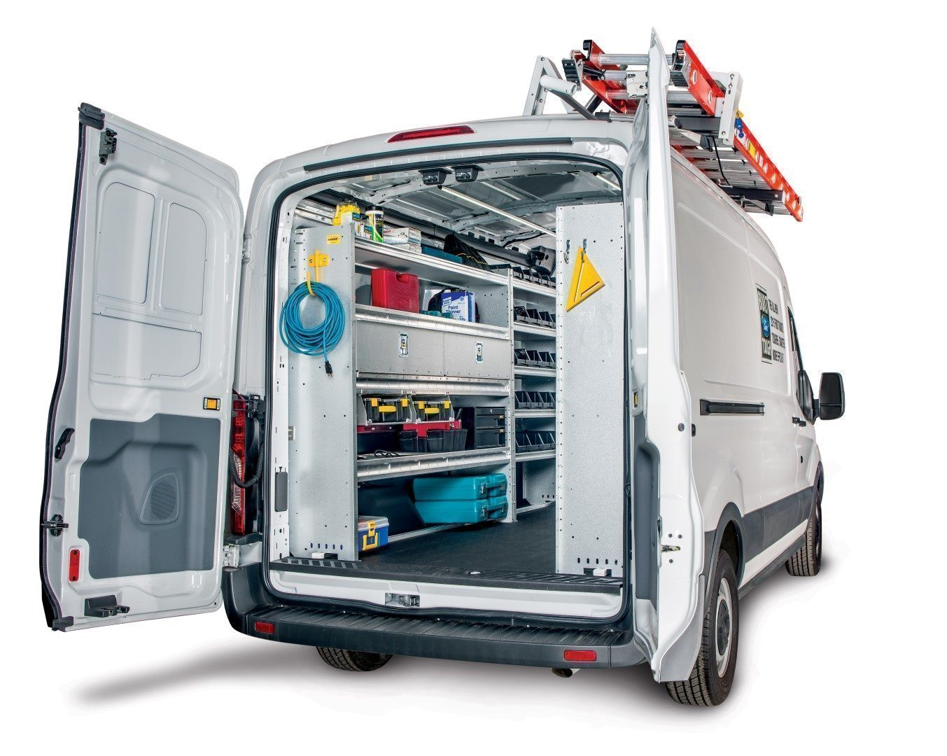 Ford Transit Gallery Of Shelving Packages