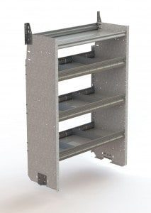 F38-T deep shelving unit for the Transit, Promaster and Sprinter