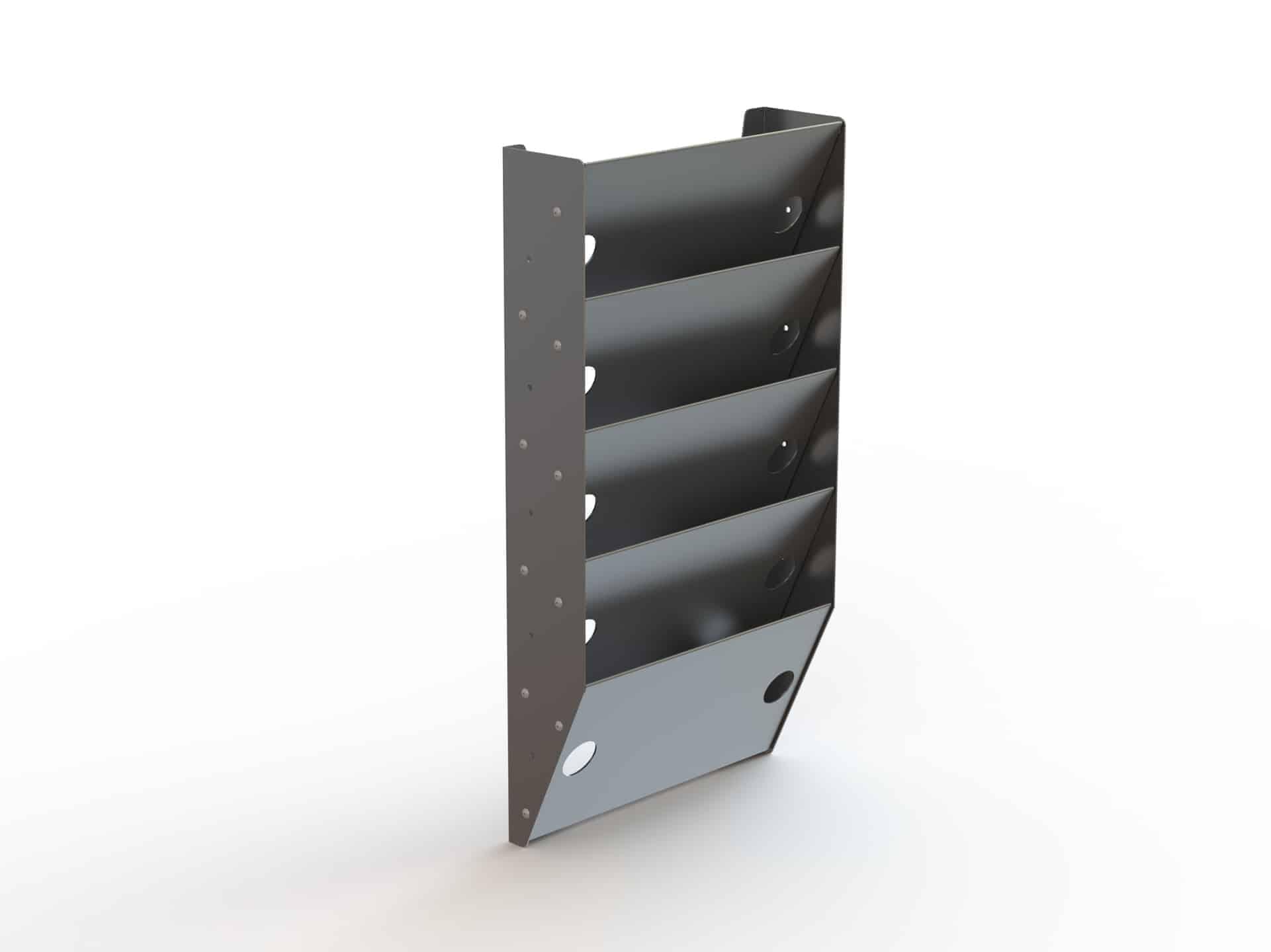 5 Slot Paper Holder Cargo Van Accessory - Ranger Design