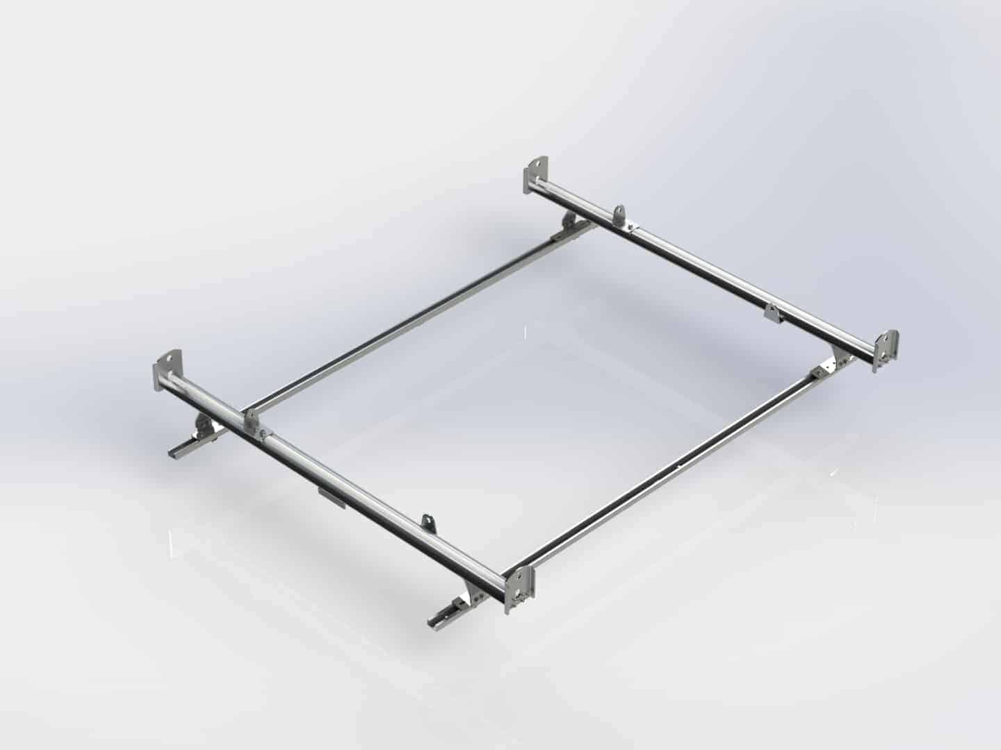 Cargo Rack For Vans 2 Bar System Ram Promaster City