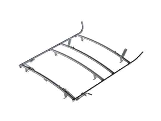 Combination Mercedes Sprinter Ladder Rack, 3 Bar System, 1525-DH3