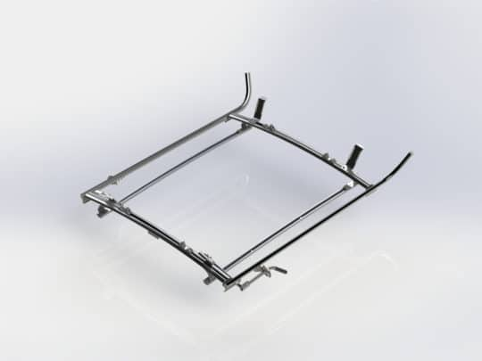 Double Side Transit Connect Ladder Rack, 2 Bar System, #1530-TC