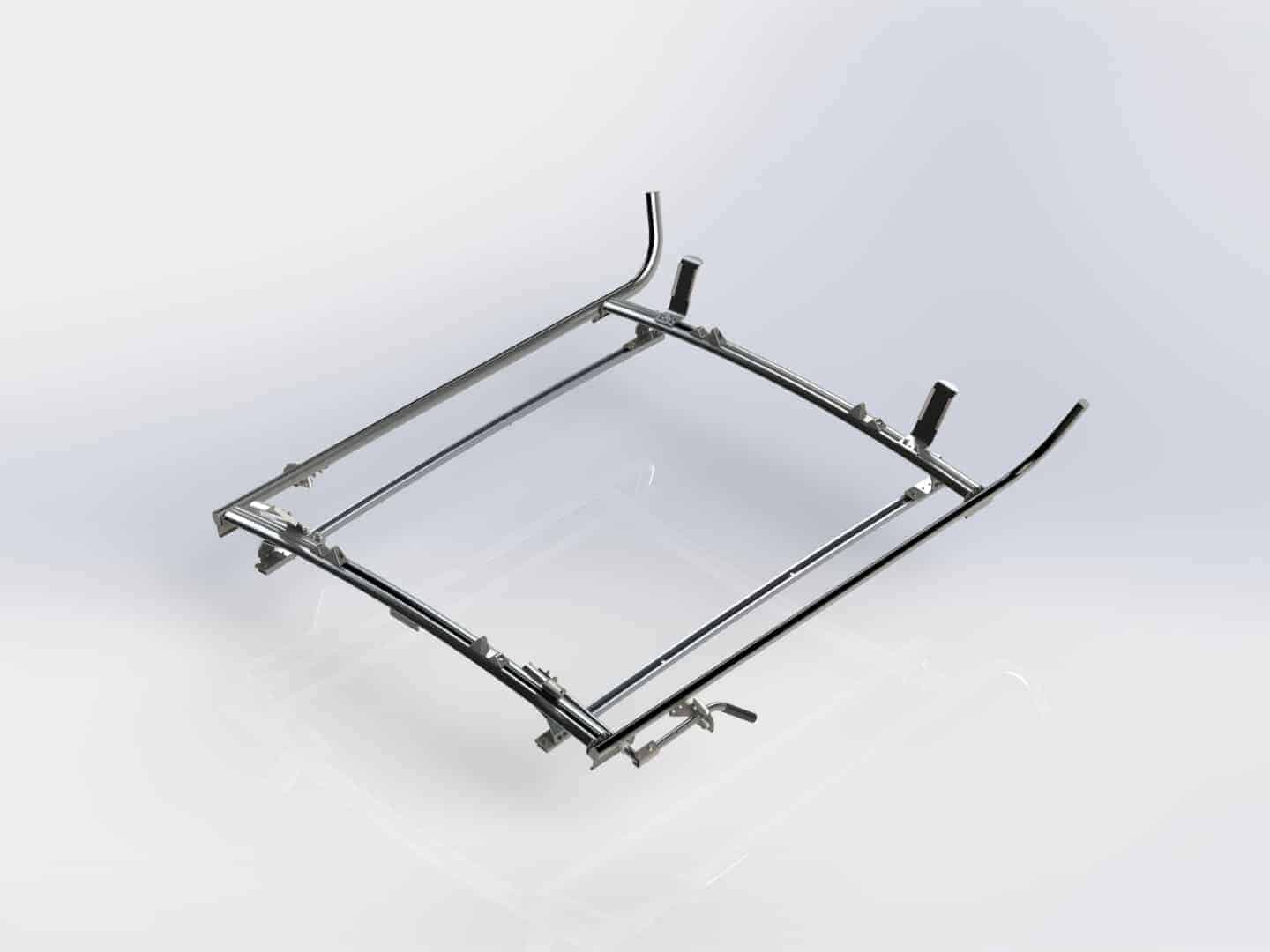 Double Side Transit Connect Ladder Rack 2 Bar System, #1530-TC