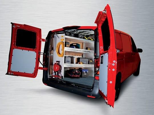 2016 Mercedes Metris Van Shelving Packages