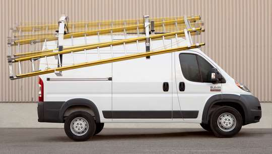 MaxRack Drop Down Ladder Racks for Vans Click For More Info