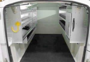 Ranger Design Pickup Truck Storage Rear View