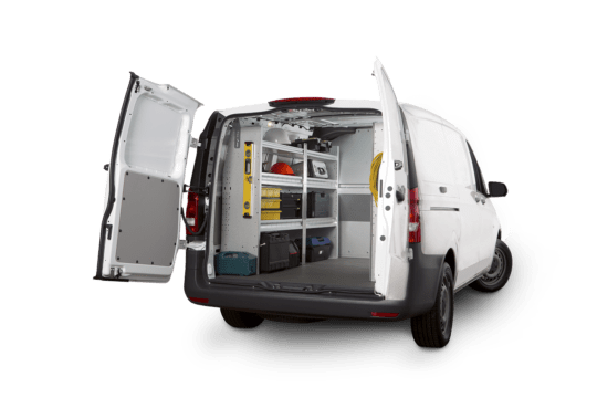 Mercedes Metris Van Shelving Packages, Z16-M1