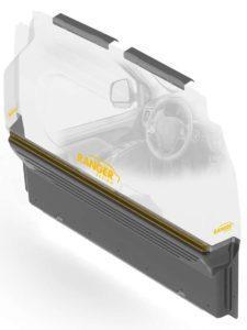 Cloison de s curit max view en mat riaux composites for Cloison translucide en polycarbonate