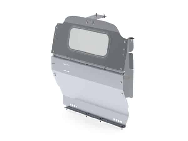 Contoured-Cargo-Van-Partition-Glass-Nissan-NV200-City-Express-3020-NS