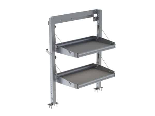 Fold-Away-Cargo-Van-Foldable-Shelving-System-2-Levels-Transit-Connect-Nissan-NV200-8330-2