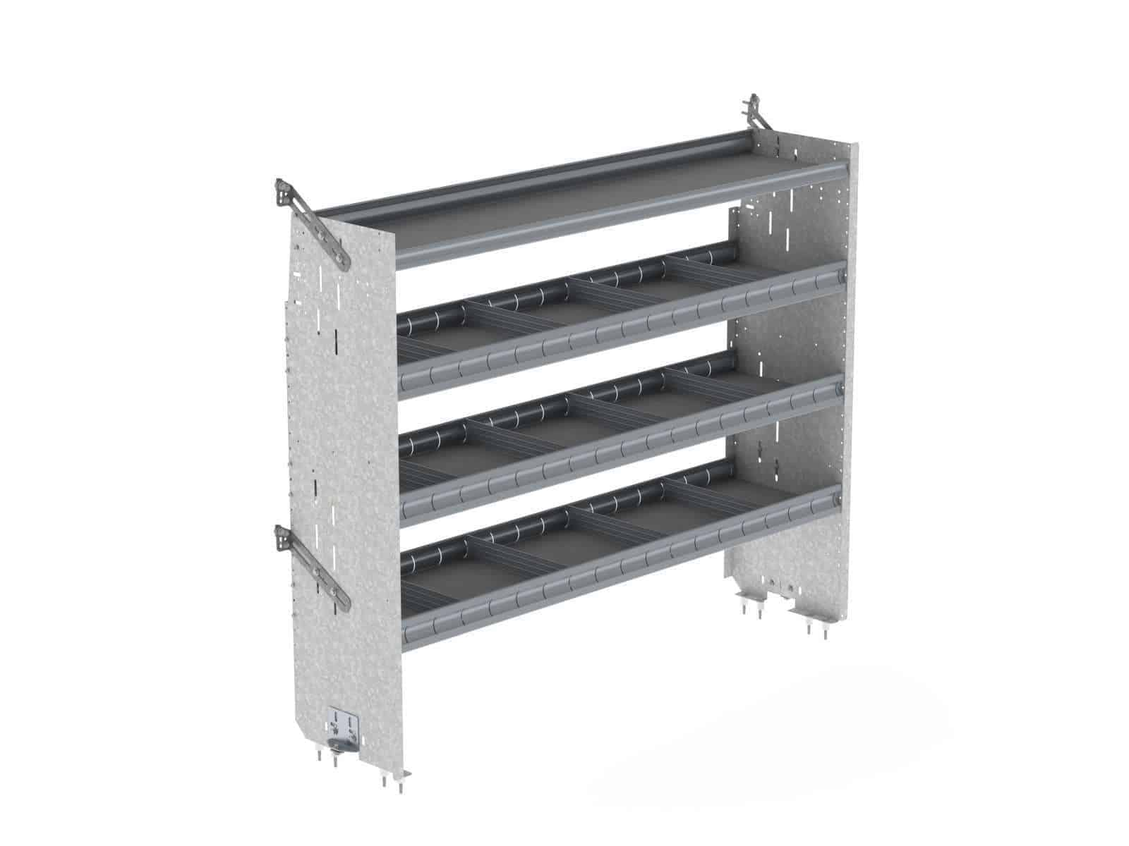 Ford-Transit-Shelving-System-HR-Square-Back-Deep-Also-Fits-Sprinter-ProMaster-NV-F70-T