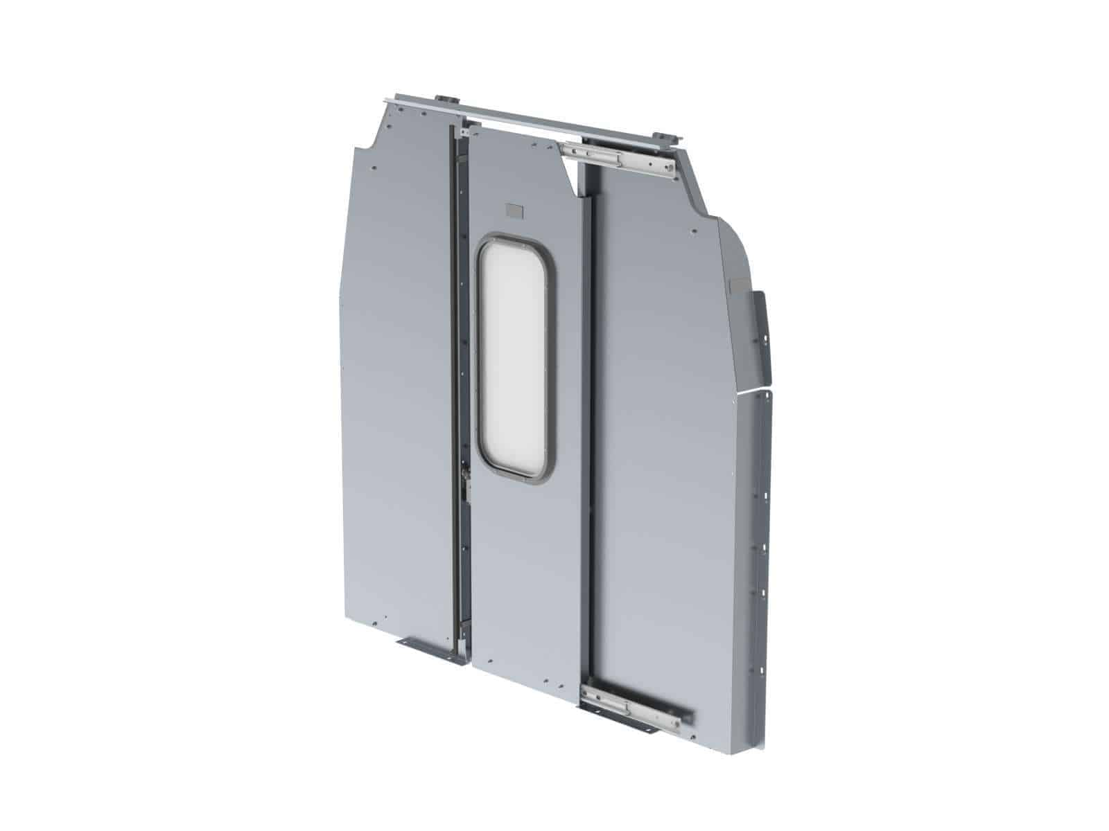 Sliding Door Cargo Van Partition Ford Transit Mr Ranger Design
