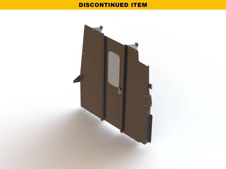 Swing-Door-Cargo-Van-Partition-Nissan-NV-HR-3069-NH-discontinued