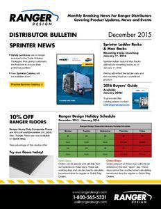 thumbnail of Distributor Bulletin – December 2015