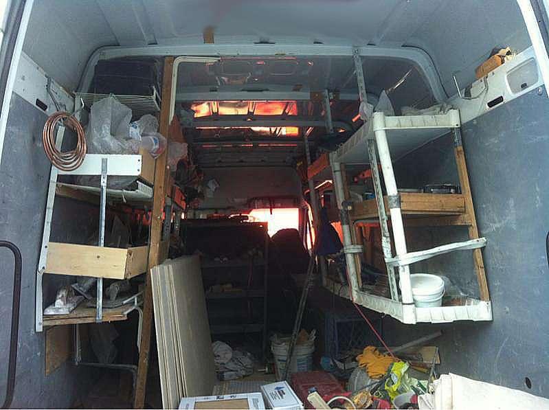 Cargo Trailer Shelving Ideas Diy Or Not Ranger Design