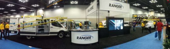 Ranger Design Booth at NTEA