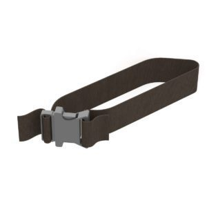 Black-Nylon-Strap-2-Wide-X-28-Long-Plastic-Buckle-6095